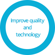 Improve quality and technology